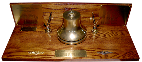 Bell used to too departed shipmates